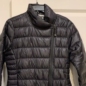 Athleta Black Down Jacket